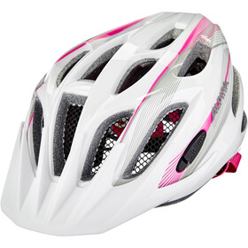 Alpina FB 2.0 Flash Helmet Youth white-pink-silver